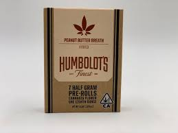 Peanut Butter Breath 1/2g 7pk Prerolls by Humboldt's Finest