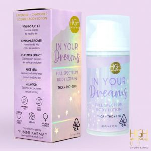 High Gorgeous by Yummi Karma In Your Dreams Body Lotion 300mg