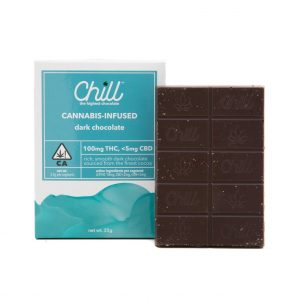 Chill Dark Chocolate 100mg