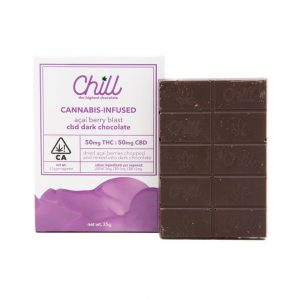 Chill Açaí Berry Blast CBD Dark Chocolate 100mg