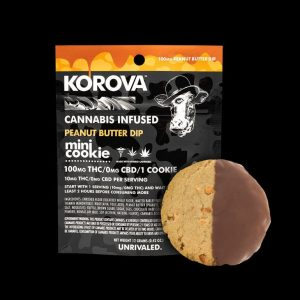 Korova – Peanut Butter Mini Dip, 100mg THC