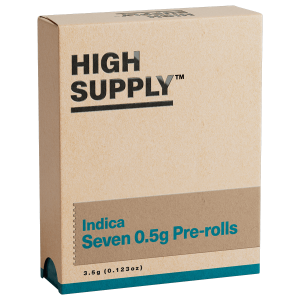 High Supply | Shorties 3.5g (7-pk) | Indica
