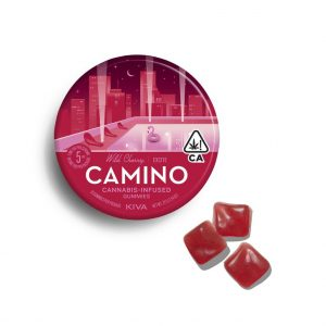 "Camino Wild Cherry ""Excite"" Gummies"