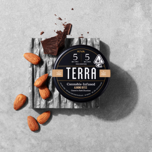 Terra Chocolate-Covered Almonds CBD 1:1 Bites – 100mg